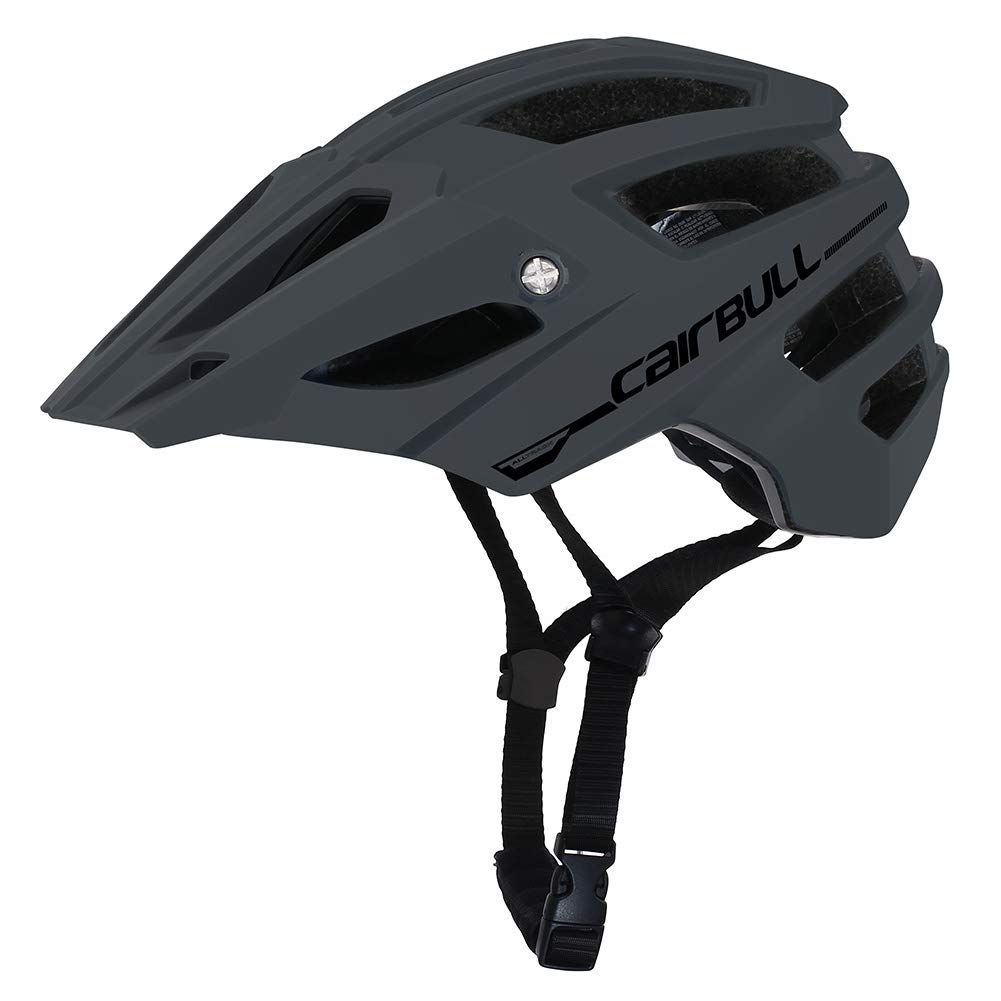 Grey M L (56-61CM) Starabu Professional Outdoor Mountain Road Bike Safety Riding Helmet with Brim
