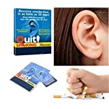 The Magnetic Therapy is new and high quality Colour: Gold Package size: 13.5x11x0.7cm/5.31*4.33*0.27inch Package Included: 1 PCS  The Magnetic Therapy is Natural, no chemicals, no pills. By placing Zero Smoke on your ear, you are stimulating an acupr...