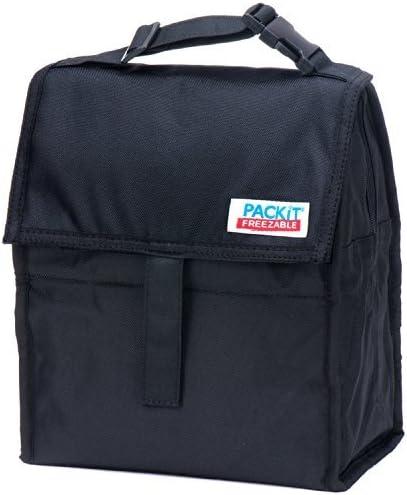 PackIt Freezable bolsa termoaislada con cierre de cremallera, De tinta negra y de colour: - De tinta negra y de: Amazon.es: Bebé