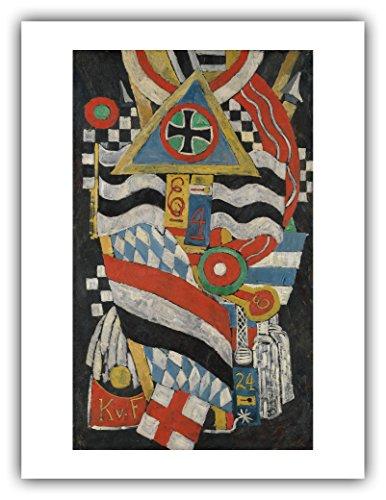 The Ibis Print Gallery - Marsden Hartley : ''Portrait of a German Officer'' (1914) - Giclee Fine Art Print