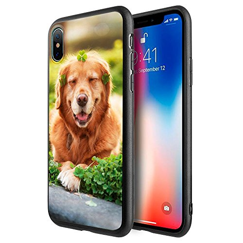 iPhone X Case, Dreamwireless Fusion Candy Dog Hard Snap-in Case Cover For Apple iPhone X, Multi-Color