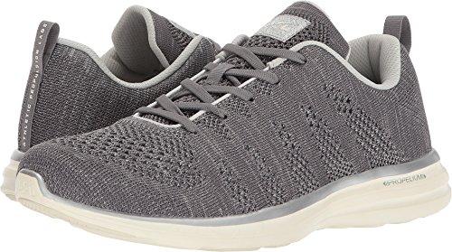 Apl: Laboratori Di Propulsione Atletica Mens Sneakers Techloom Pro Argento Metallizzato / Bianco Sporco