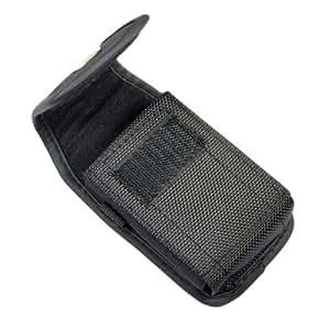 Vertical Canvas Belt Clip Case Velcro Closure for LG L34G