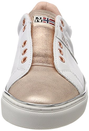 sale 100% guaranteed NAPAPIJRI FOOTWEAR Women's Alicia Loafers Weiß (White/Rose Gold) buy cheap with paypal buy cheap eastbay buy cheap clearance store cazeMbKe3