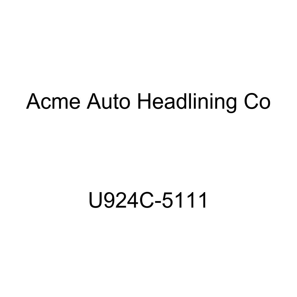 Acme U924C-5111 Front and Rear Claret Vinyl Bench Seat Upholstery