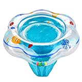 Botrong Baby Swimming Ring Toddler Kids Floating Swimming Suit Suitable 1-3 year (Blue)