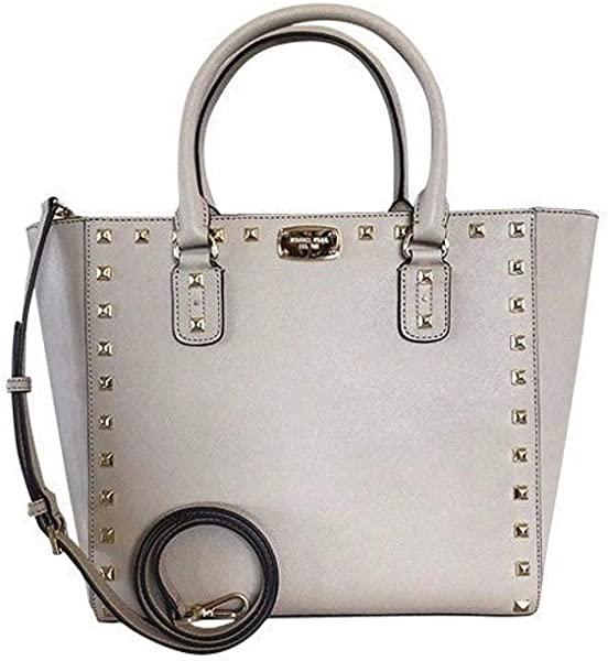 147a2e811188 Amazon.com: MIchael Kors Sandrine Stud Large Tote Bag: Shoes