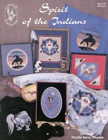 Pegasus Originals Spirit of the Indians Counted Cross Stitch Leaflet (Cross Stitch Seattle)