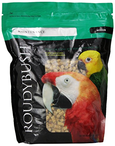 RoudyBush Senior Bird Diet, Medium, 44-Ounce ()