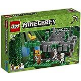 LEGO 21132 Minecraft The Jungle Temple,Multi Color