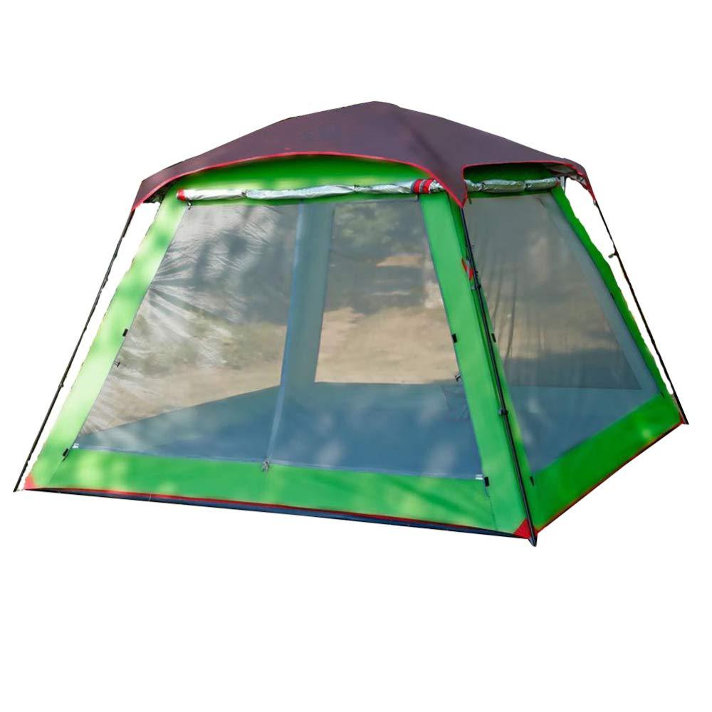 VATHJ Camping Zelt Outdoor 5-8 Personen großen Raum Multi-Person Camping-Ausrüstung Strand regendicht Sonnencreme Zelt