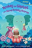 Monkey and Elephant and a Secret Birthday Surprise (Candlewick Sparks)