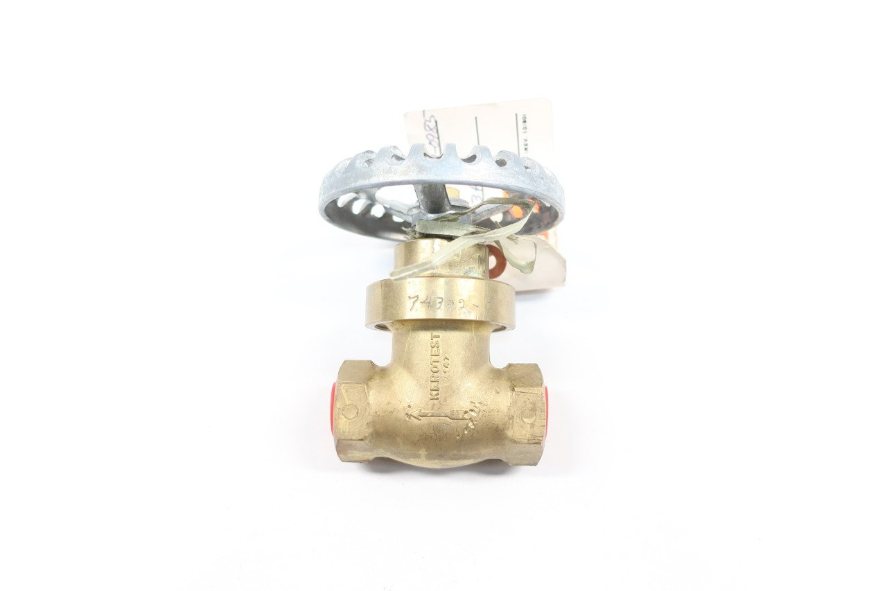 3//4 Female Garden Hose x 3//4-14 Female Pipe Tompkins 4030-12-12 Garden Hose GHT to Pipe Fitting Brass