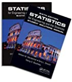 Statistics for Engineering and the Sciences, Sixth Edition, Textbook and Student Solutions Manual
