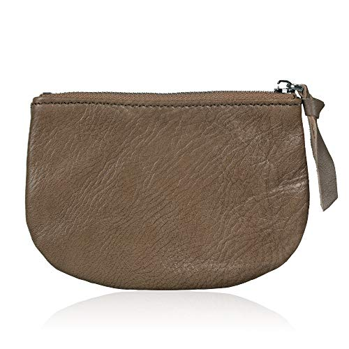 Befen Women Small Cute Leather Wallet, Soft Mini Coin Purse with Card Slots for Women and Teens Girls (Vintage Brown Coin - Soft Womens Wallet