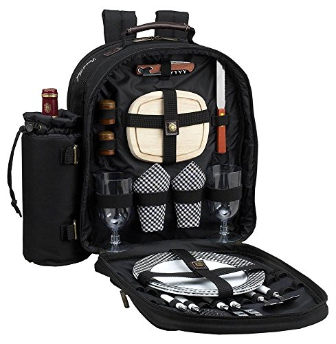 Picnic at Ascot - Deluxe Equipped 2 Person Picnic Backpack