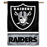 Oakland Raiders Two Sided House Flag