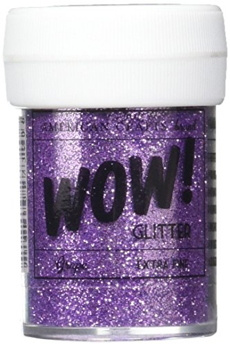 (American Crafts 27320 Amc27320 Wow Extra Fine Glitter Grape 1 Oz)