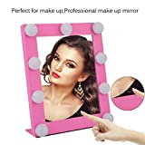 Homgrace Hollywood Makeup Vanity Mirror with Light (Pink) Review