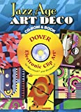 img - for Jazz Age Art Deco CD-ROM and Book (Dover Electronic Clip Art) book / textbook / text book
