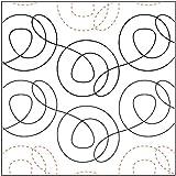 Quilting Creations Cinnamon, 4 Inch Rows,UTA-1003 Urban Elementz Tear Away, 4 Pack