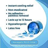 Medagel Hexagels Plus Aloe Vera - Hydrogel Pads