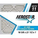 Aerostar 16 3/8x21 1/2x1 MERV 11 Air Filter, 16 3/8