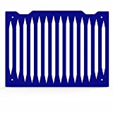 yamaha fz1 01 radiator - Blade Blue Powdercoat Radiator Grill Guard Cover fits: 2001-2003 Yamaha FZ1 - Ferreus Industries - GRL-133-10-Blue