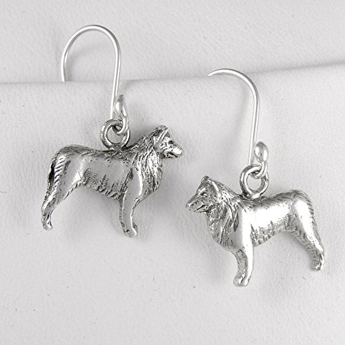 Fine Arf Earrings Belgian Tervuren
