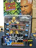 WCW SMASH AND SLAM GOLDBERG WITH BARBELL CURLING ACTION KB TOYS EXCLUSIVE RARE