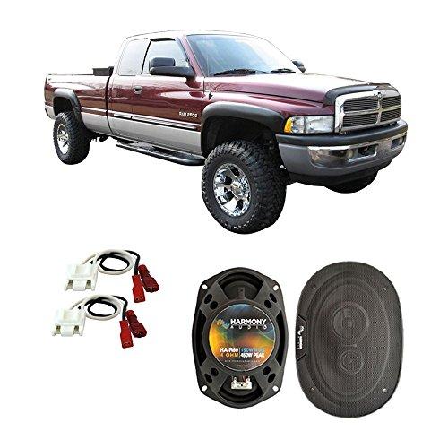 (Fits Dodge Ram Truck 2500 1994-2002 Front Door Factory Replacement Harmony HA-R69 Speakers)