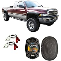 Fits Dodge Ram Truck 2500 1994-2002 Front Door Factory Replacement Harmony HA-R69 Speakers