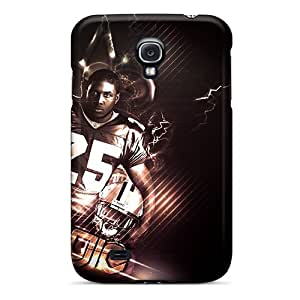 Awesome FPV130eOwX Ahaha Defender Tpu Hard Case Cover For Galaxy S4- New Orleans Saints