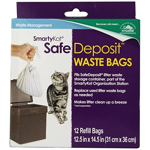 low cost SmartyKat Safe Deposit Refill Bags for Cat Litter Waste