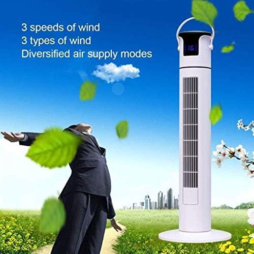 ZBM - ZBM Toren Ventilator, Bladerloze Toren Verdieping Afstandsbediening Verticale Opbouwen Stille 12H Timing Desktop Fan Air Multiplier vloer fan tzAHPYsv