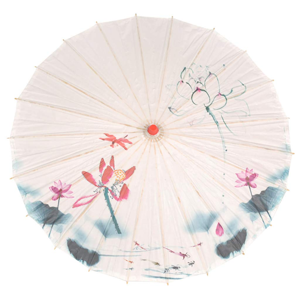 Cosplay Costumes Transser Handmade Chinese Oiled Paper Umbrella Oriental Parasol Umbrella for Wedding Parties Decoration Photography