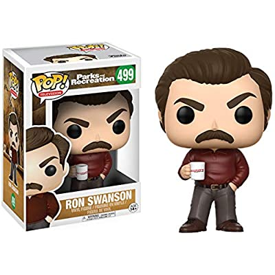 Funko Pop Television: Parks and Recreation - Ron Swanson Figure: Funko Pop! Television:: Toys & Games