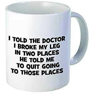 "Amazon.com: Rikki Knight""If you can't afford the Doctor"" Design 11 oz Photo Quality Ceramic"