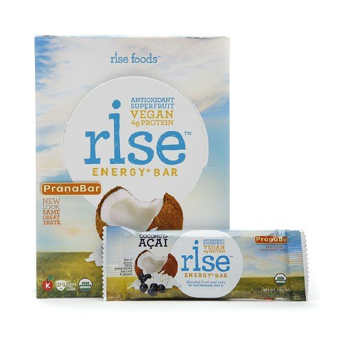 RiseBar Energy Organic, Coconut Acai, 12-Count Bars/pack (4 Pack) by ©2011 Rise Foods