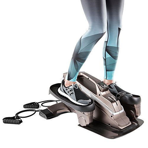 Bionic Body Under Desk Elliptical Machine Mini Stepper Trainer With