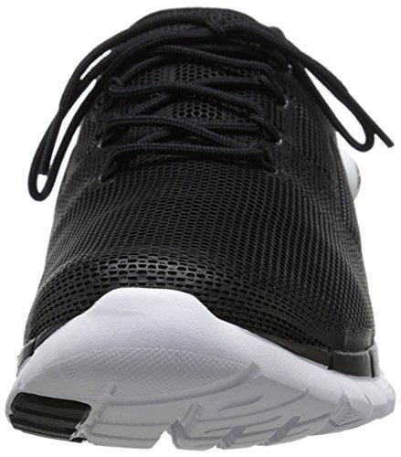 Reebok Zpump fusión de poliuretano zapatillas de running Black / White
