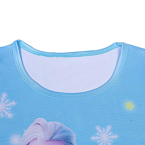 LQSZ Girls Princess Nightdress Sleepwear Pajamas Nightgown Nightie Casual Dress