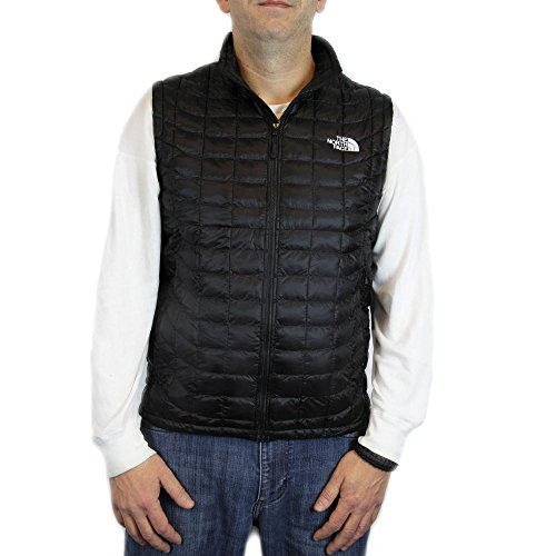 The North Face Mens ThermoBall? Vest TNF Black 1 Outerwear SM