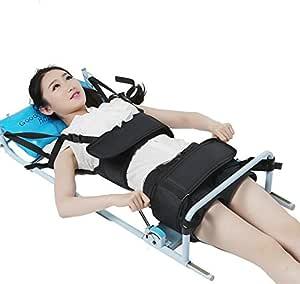 Patentado Buena Eficente Espina Cervical Tracción Columna Lumbar Cama Terapia Masaje Cuerpo Estiramiento Dispositivo Para Lumbago Baja Espalda Amazon Es Salud Y Cuidado Personal