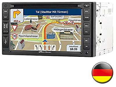 navgear doppel din radio streetmate 2 din autoradio mit navi dsr n 62 deutschland preis hat. Black Bedroom Furniture Sets. Home Design Ideas