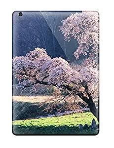 Awesome Design Cherry Blossom Tree Hard Cases Covers For Ipad Air