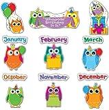 CD-110227 - COLORFUL OWLS BIRTHDAY BB SET