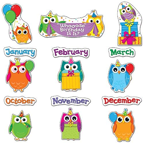 Classroom Cleaners Design ~ Birthday bulletin board decorations amazon