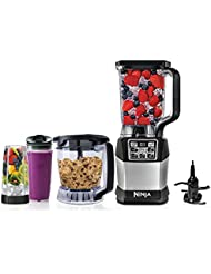 Nutri Ninja Kitchen System Blender with Auto-iQ Boost - BL494 (Certified Refurbished)
