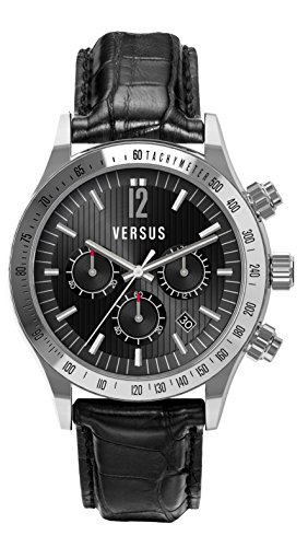 Versus-by-Versace-Mens-SGC050012-Cosmopolitan-Round-Stainless-Steel-Black-Dial-Chronograph-Watch